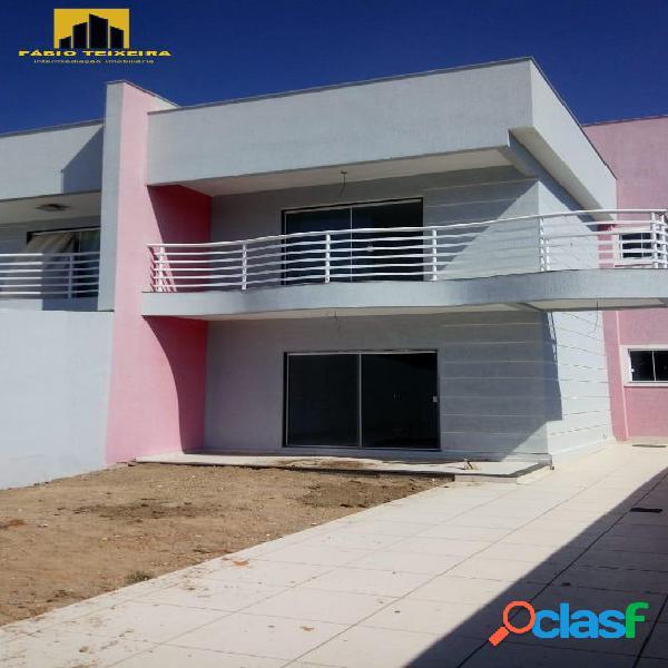 Casa com 4 dormitórios à venda, 130 m² por r$ 750.000 - portinho - cabo frio/rj