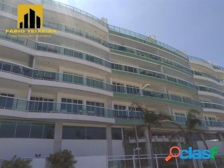Cobertura com 6 dormitórios à venda, 370 m² por r$ 3.800.000 - praia do forte - cabo frio/rj