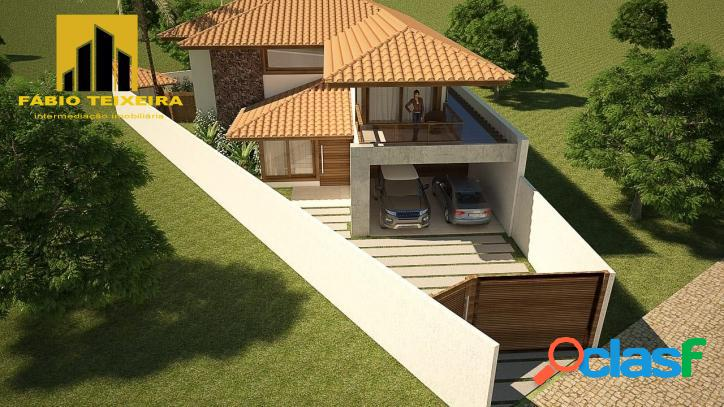 Terreno à venda, 384 m² por r$ 395.000 - miguel couto - cabo frio/rj