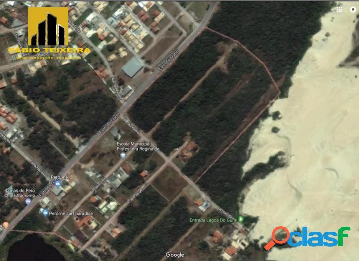 Terreno à venda, 6000 m² por R$ 110.000 - Dunas do Peró - Cabo Frio/RJ