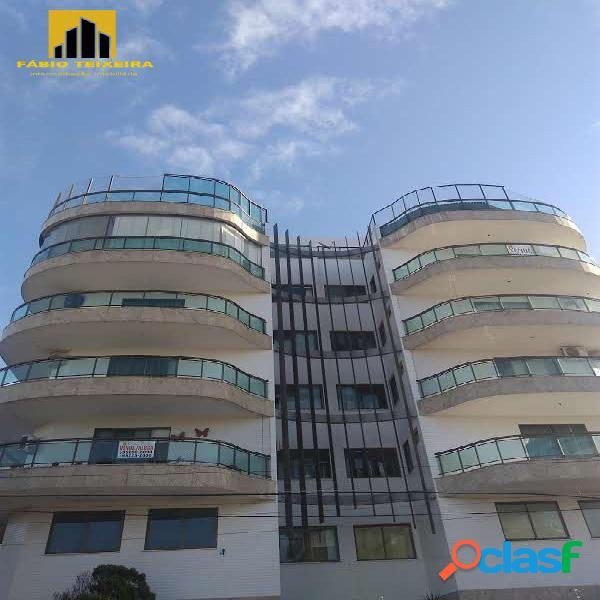 Cobertura com 4 dormitórios à venda, 180 m² por r$ 1.120.000 - braga - cabo frio/rj