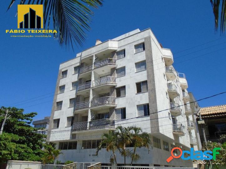 Apartamento amplo de 3 quartos à venda, 120 m² por r$ 400.000 - braga - cabo frio/rj