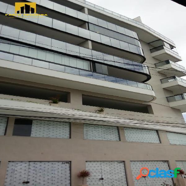 Apartamento com 1 dormitório à venda, 75 m² por r$ 530.000 - centro - cabo frio/rj