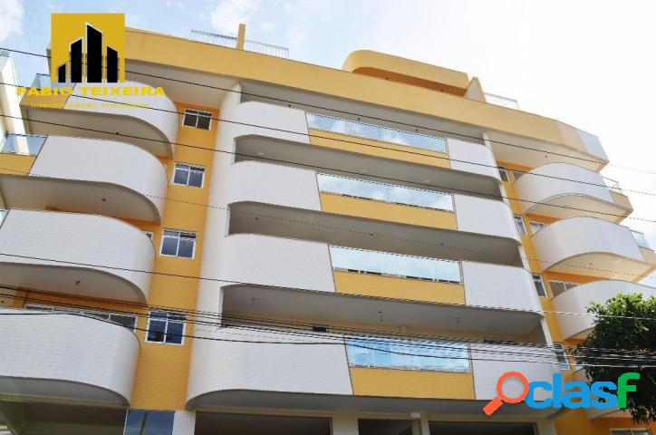 Apartamento com 2 dormitórios à venda, 85 m² por r$ 515.000 - braga - cabo frio/rj