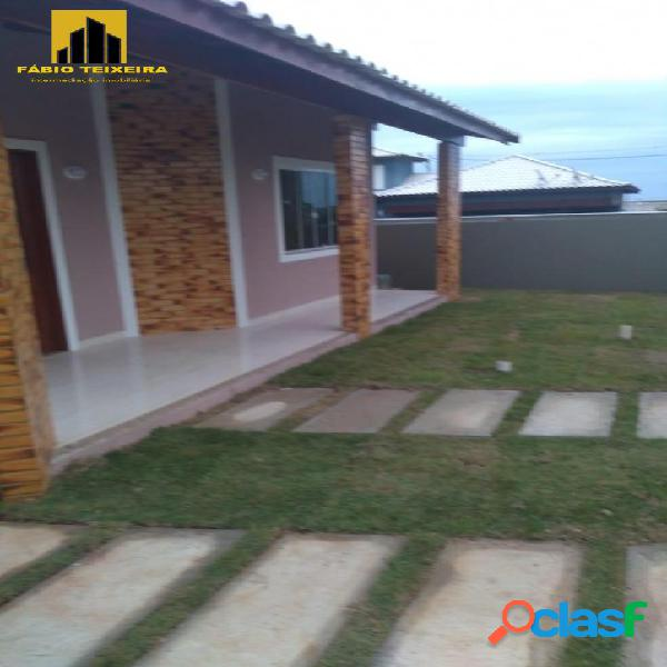 Casa com 3 dormitórios à venda, 108 m² por r$ 390.000 - recanto do sol - são pedro da aldeia/rj