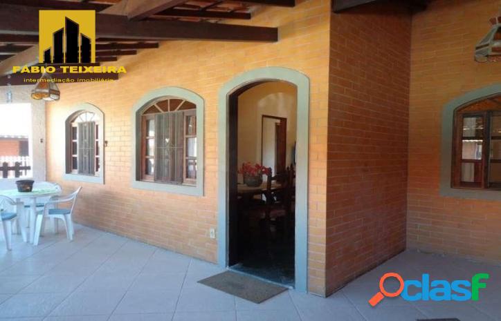 Casa com 3 dormitórios à venda, 48 m² por r$ 390.000 - palmeiras - cabo frio/rj