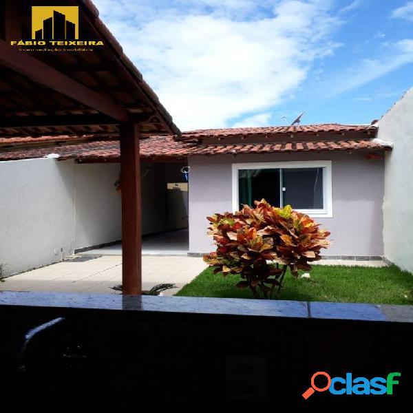 Casa com 2 dormitórios à venda, 140 m² por r$ 550.000 - jardim excelsior - cabo frio/rj