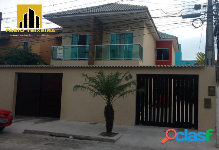 Casa com 3 dormitórios à venda, 120 m² por r$ 600.000 - jardim flamboyant - cabo frio/rj