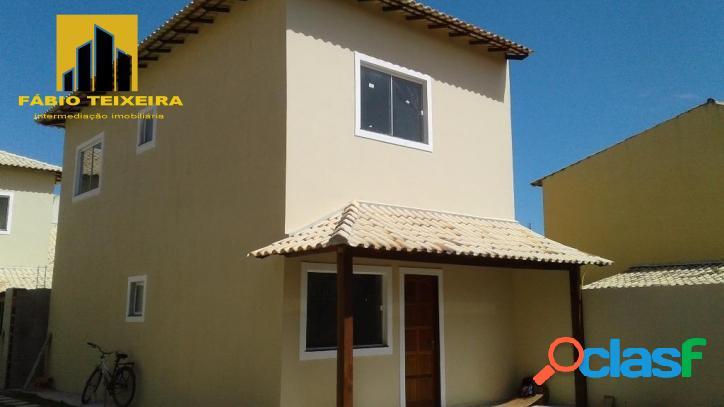 Casa com 3 dormitórios à venda, 130 m² por r$ 470.000 - palmeiras - cabo frio/rj