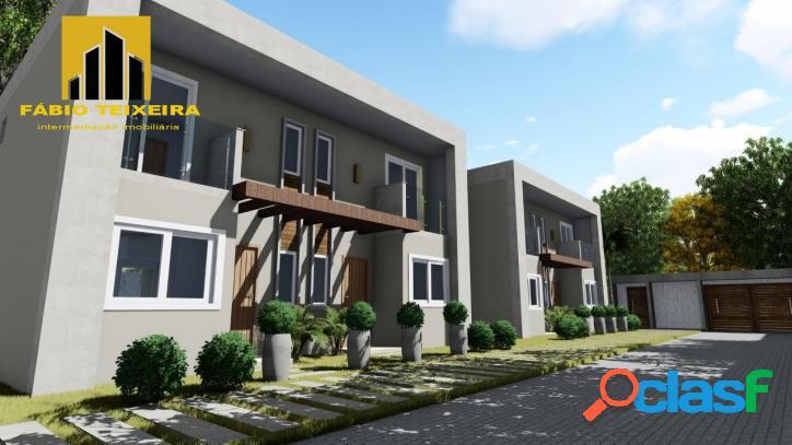 Lançamento cabo frio! 2 suites à venda, 85 m² por r$ 419.000 - jardim flamboyant - cabo frio/rj