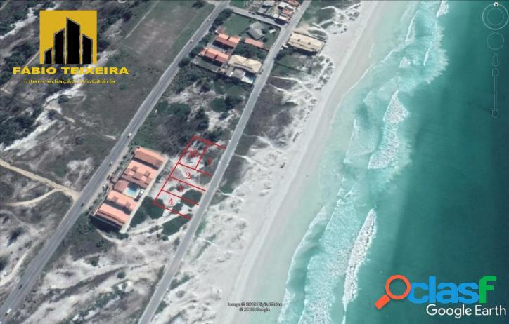 Terreno à venda, 508 m² por r$ 400.000 - foguete - cabo frio/rj