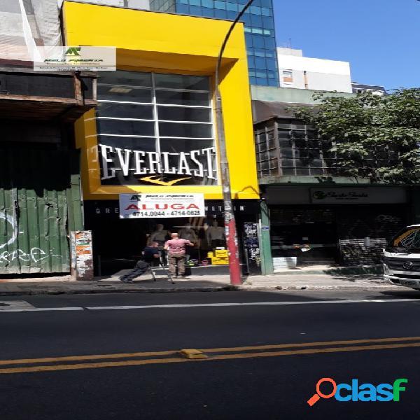 Loja e salão comercial rua augusta