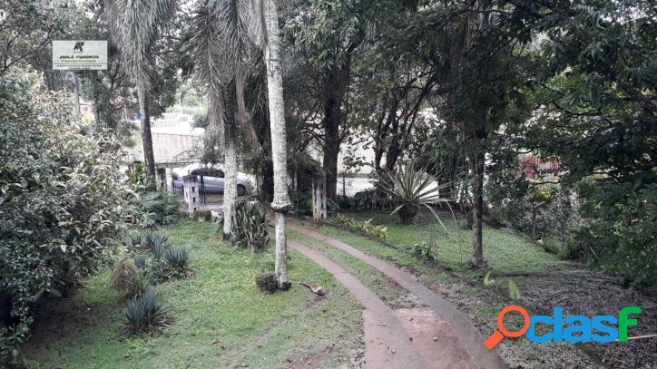 Condomínio fechado sanroqueville 1.000m² terreno casa com 3 dormitórios!