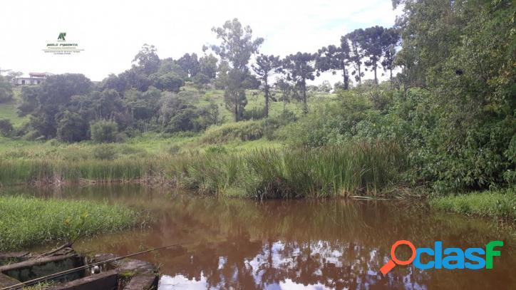 Sítio com 55.000m² rico em águas e pasto a venda no bairro sorocamirim