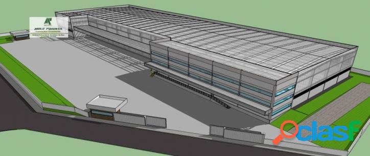 Galpão industrial e logístico 9.000m² a/c venda e locação cotia - sp