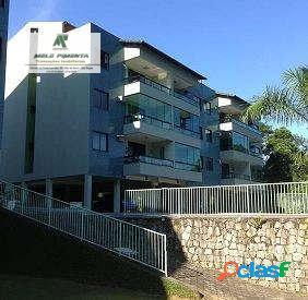 Apartamento a venda no bairro porto caieira em angra dos reis - rj. 1 banheiro, 3 dormitórios, 1 suíte, 2 vagas na garagem, 1 cozinha, sala de esta