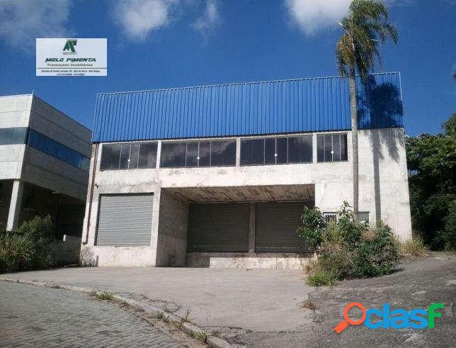 Galpão industrial 1.100m² santana de parnaíba estrada dos romeiros