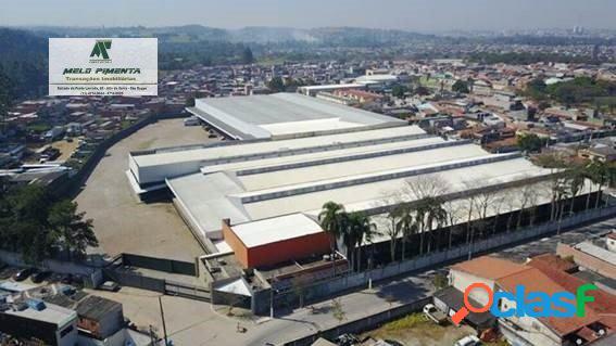 Galpão industrial 19.000m² modular logístico são paulo