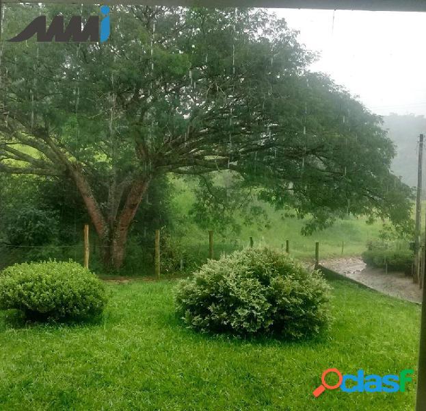 Sítio em taió sc com 12 hectares - com água nascente