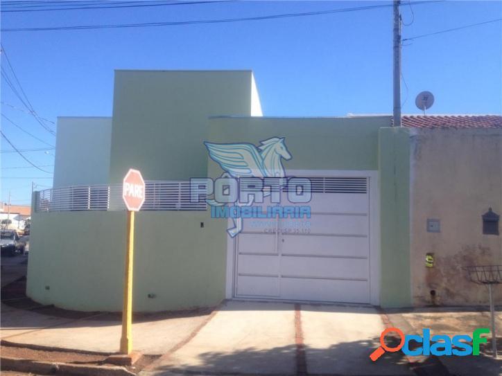 Casa nova com 3 dormitórios no jd. silvestre ii - ac. financiamento