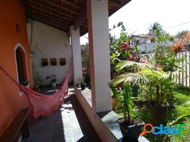Ampla casa mobiliada terreno 360 m² no grandesp-itanhaém -