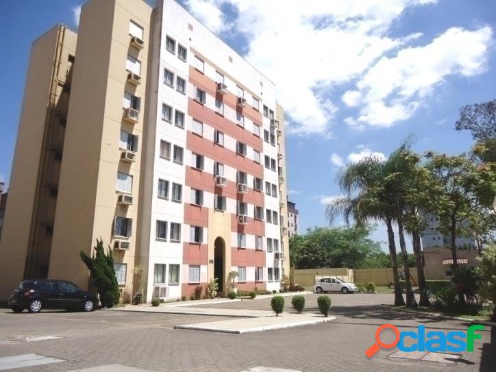 Apartamento residencial com 3 dormitórios e 1 vaga em condomínio no bairro são sebastião em porto alegre