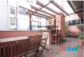 Cobertura com 2 dormitórios à venda, 100 m² por r$ 765.000 bom fim - porto alegre/rs