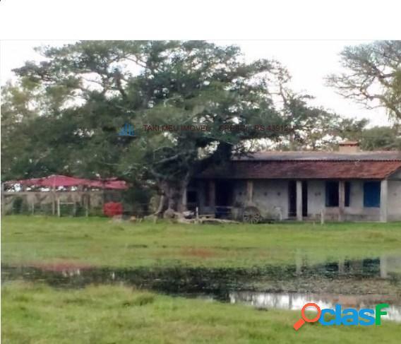 Vende-se fazenda em pelotas.casa boa, galpão, toda cercada, mangueira, carregador. 379 ha