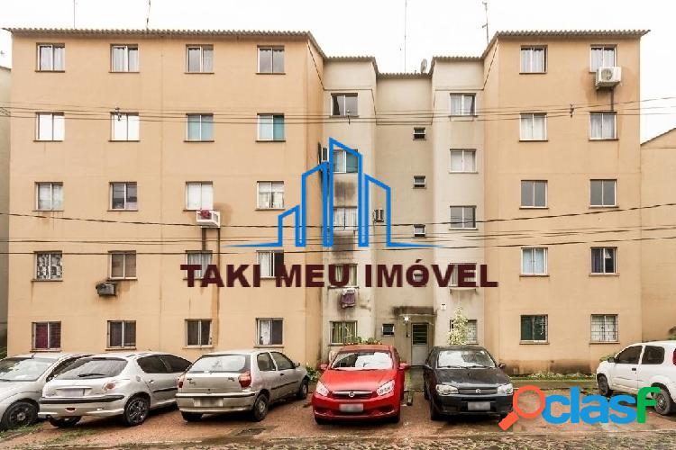 Apartamento 2 dorms, garagem rotativa, sol da tarde 115,000