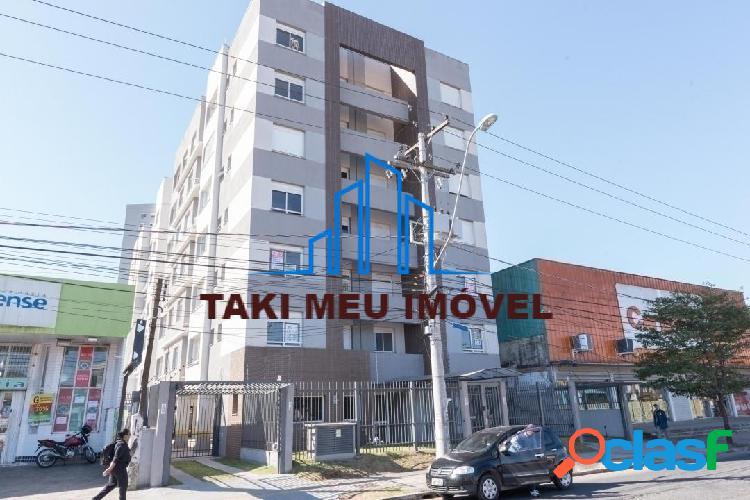 Lindo apartamento 2 dorms,, 1 suite, churrasqueira dentro, 55,15 m²
