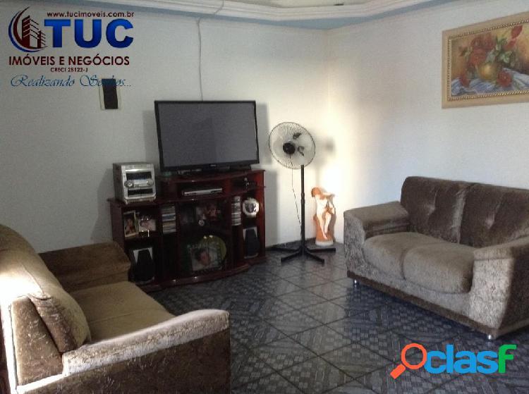 Ótima localização casa c/4 dorms +salão comercial jd laura -sbc