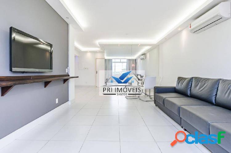 Apartamento com 2 dormitórios à venda, 119 m² por r$ 485.000,00 - josé menino - santos/sp