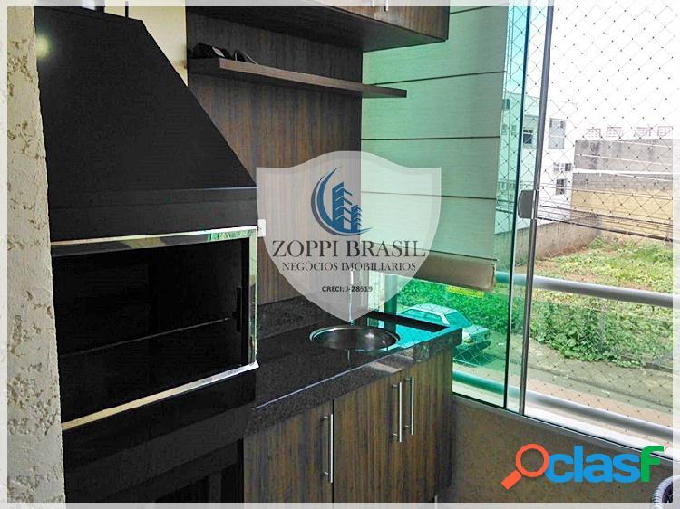 Ap293 - apartamento, venda, americana sp, parque novo mundo, 80 m², 3 dormi