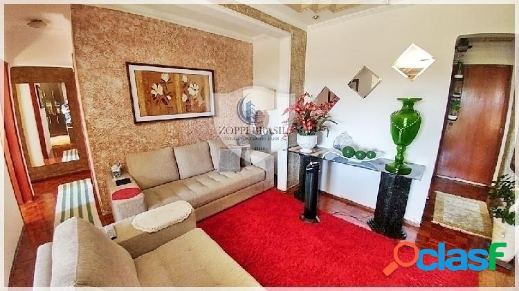 Ap397 - apartamento à venda em americana sp, centro, 95 m², 3 dormitórios,