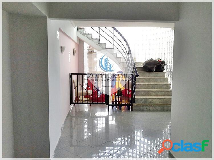 AP446 - Apartamento à Venda em Praia Grande SP, Vila Guilhermina, 112 m², 3