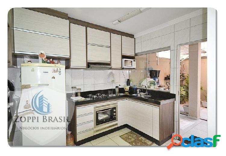 Ca200 - casa, venda, americana, bairro jaguari, 95m², sobrado, 3 dormitório