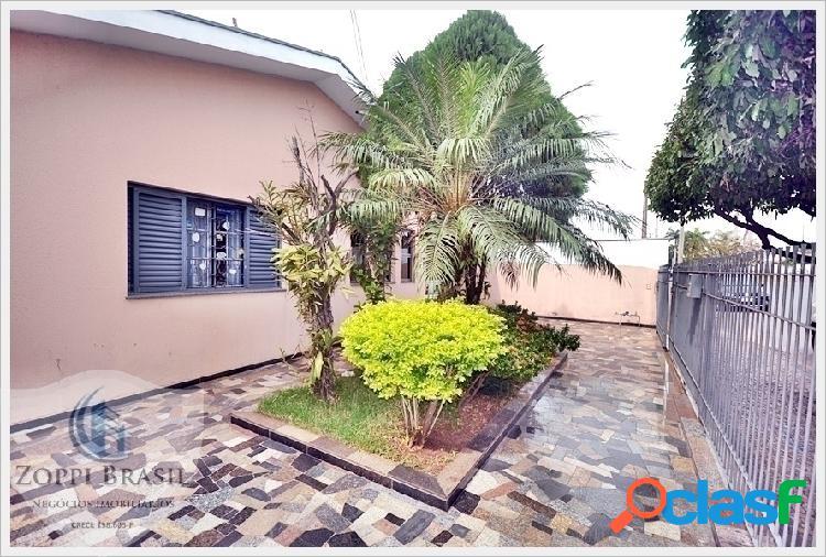 Ca308 - casa, venda, americana, jardim brasília, 300 m² terreno, 80,50 m² c