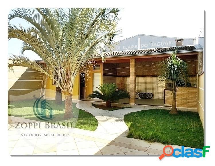 Ca345 - casa, venda, americana, parque residencial jaguari, 420mâ² terreno,