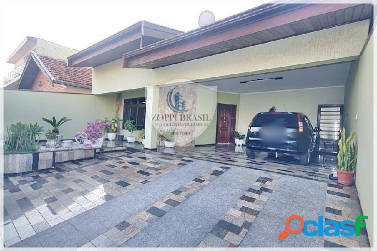 Ca572 - casa à venda em americana sp, vila frezzarin, 300 m² terreno, 225 m