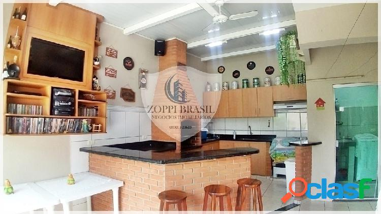 Ca619 - casa à venda em americana sp, jd.n.sra de fátima, 300 m² terreno, 1