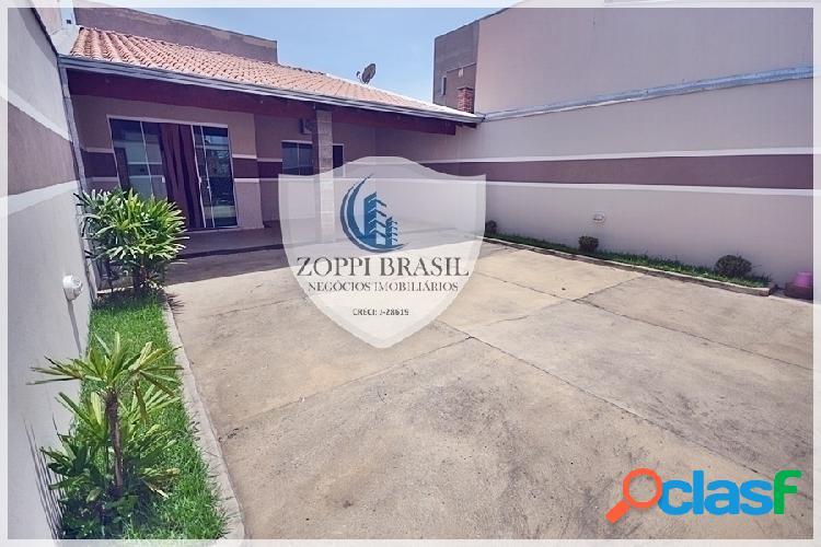 Ca634 - casa à venda em americana sp, jardim balsa ii, 150 m² terreno, 84 m