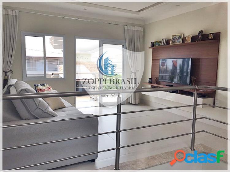 Ca683 - casa em condomínio à venda em paulínia sp, jardim planalto, 300 m²