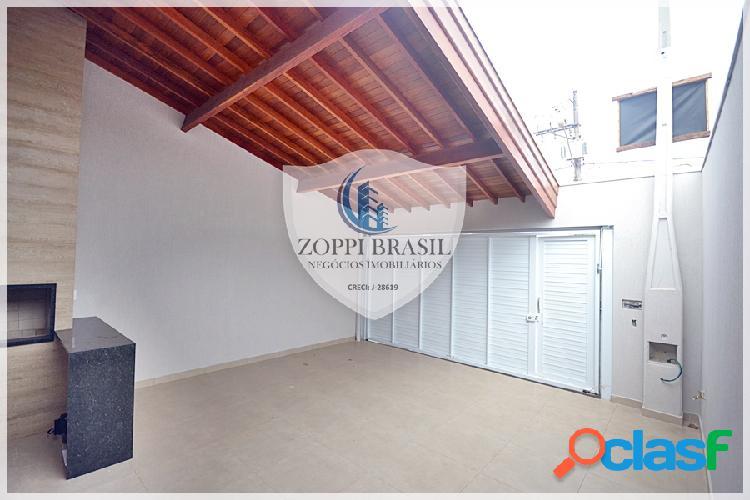 CA697 - Casa à Venda em Americana SP, Jardim Terramérica, 156 m² terreno, 3 2