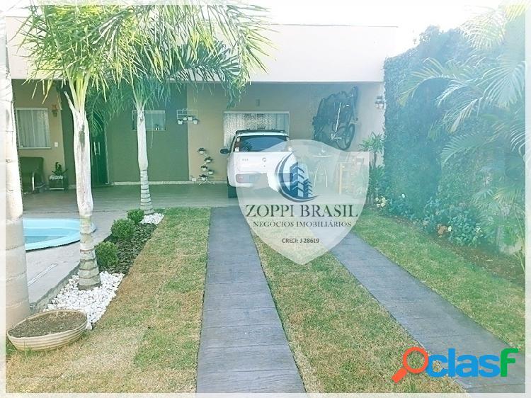 Ca722 - casa à venda em americana sp, jardim terramérica, 156 m² terreno, 1