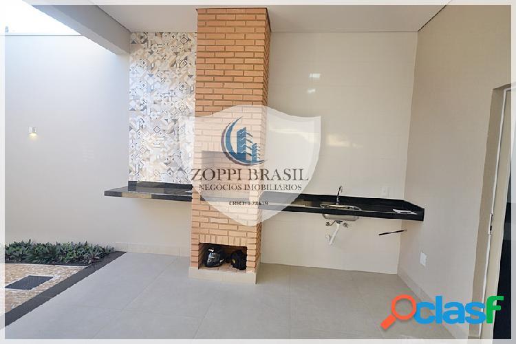 Ca747 - casa térrea a venda em americana sp, jardim terramerica, 150 m² ter