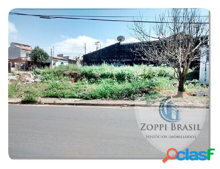 Te127 - terreno, venda, americana, jardim mirandola, 200 m², esquina, área