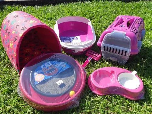 Kit completo para gato casa banheira de areia promoção
