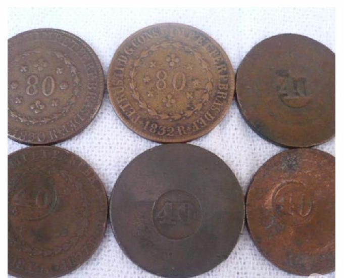 Vendo 10 quilos de moedas antigas d 1827 a 1901 r$4.000 tudo