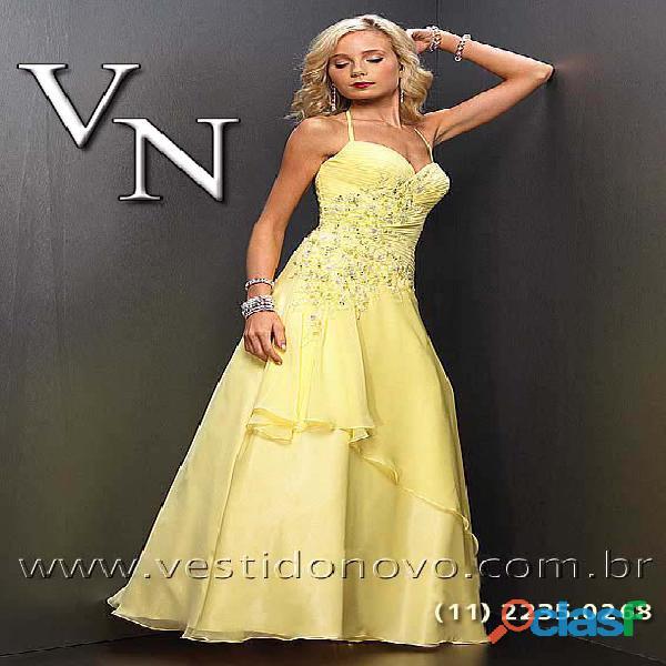 Vestido amarelo, mãe de noivo, mae de noiva, formatura zona sul