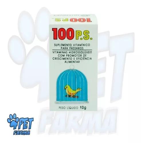 100 ps combate peito seco e doenças de aves